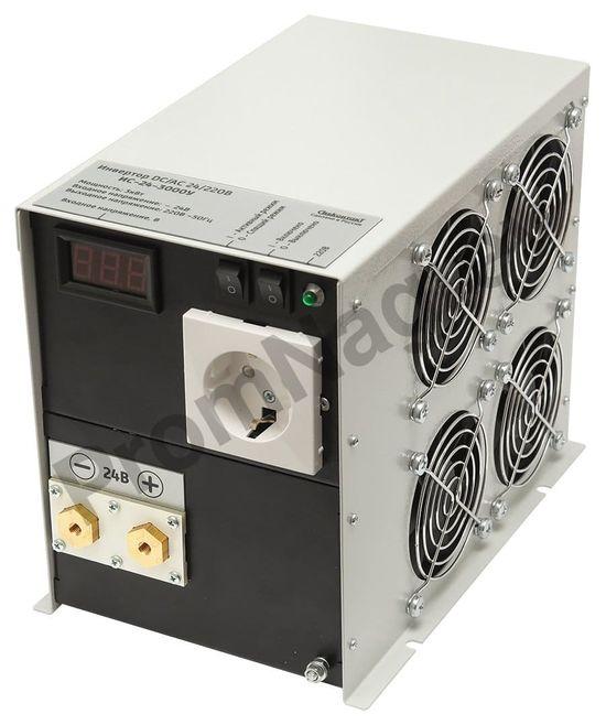 ИС-24-3000У инвертор, преобразователь напряжения DC/AC, 24В/220В, 3000Вт