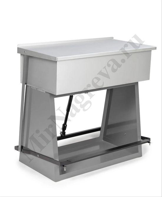 Очиститель для крупных и мелких деталей с погружным контейнером