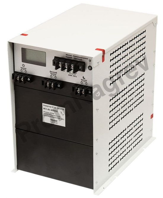 ИС1-24-6000У1 инвертор, преобразователь напряжения DC/AC, 24В/220В, 6000Вт