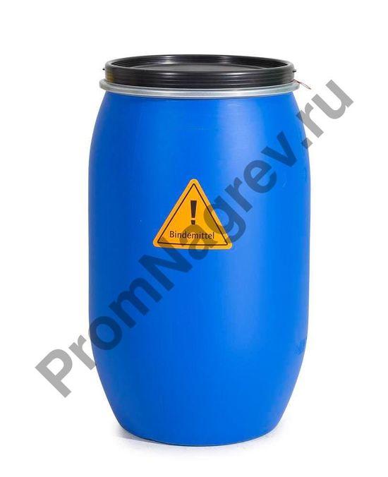 Набор сорбентов на случай утечки нефти и масляных веществ, содержащийся в бочке.
