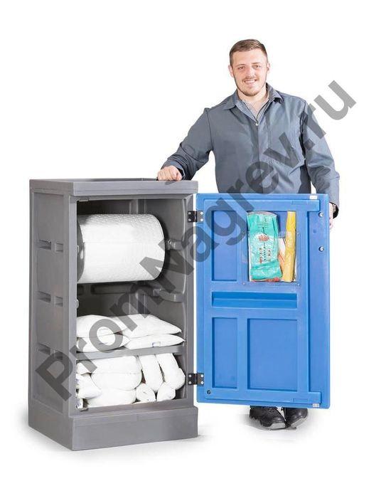 Шкаф для постепенного отпуска сорбирующих нетканых веществ.