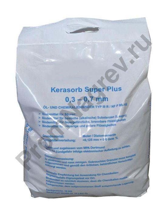 Сорбент в гранулах для нефтепродуктов и химикатов, без летучих органических соединений, 10 кг