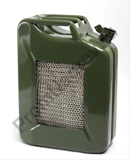 Взрывобезопасная стальная канистра для топлива, объем 20 литров