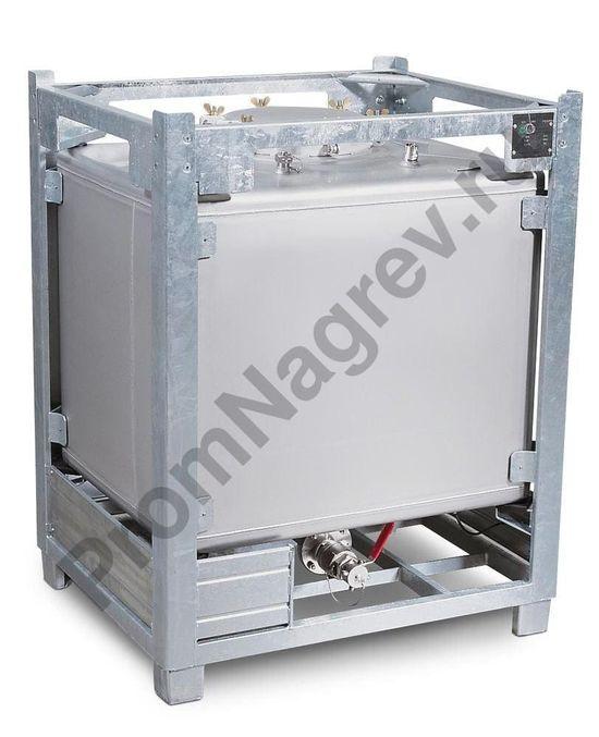 Прямоугольный контейнер IBC TA из нержавеющей стали