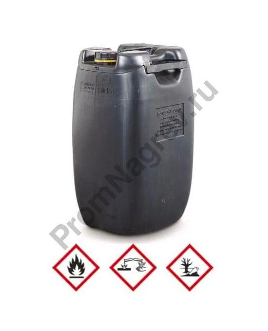 Токоотводящая канистра из полиэтилена, 60 литров, чёрная