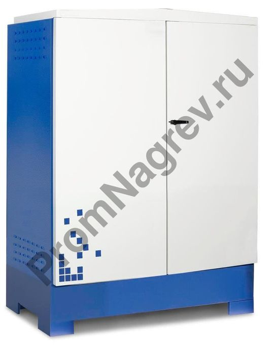 Внутренняя высота 1445 мм обеспечивает безопасную работу с насосами или инжекторами.