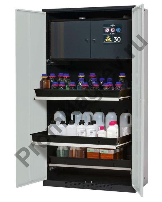 Шкаф для комбинированного хранения химикатов и огнеопасных веществ, Systema-Plus-T.