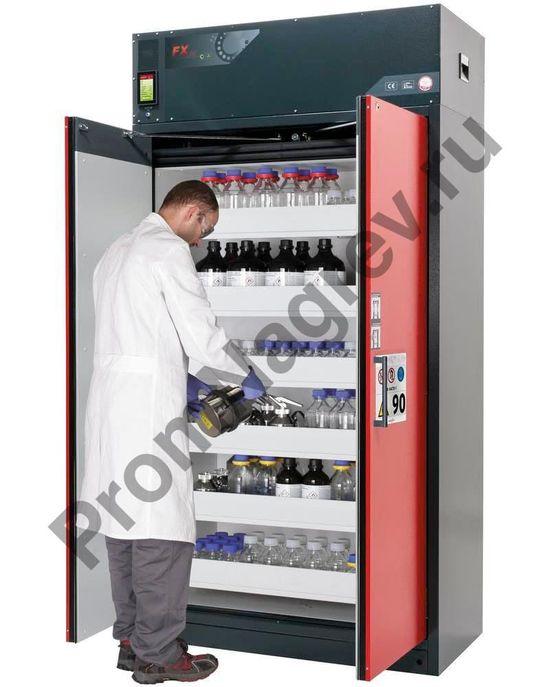 Шкаф с фильтрацией воздуха Custos, шесть выдвижных лотков.