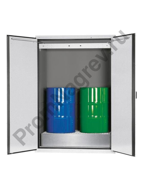 Шкаф для хранения 2 бочек по 200 литров, огнестойкий,  модель VbF 90.2