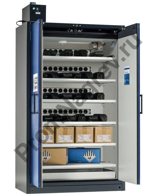 Шкафы классифицированы типом TRGS 510 по немецкому законодательству – таким образом, соблюдаются требования VdS 3103:2016-05.