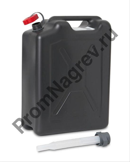 Пластиковая канистра со сточной трубкой для транспортировки и работы с опасными веществами