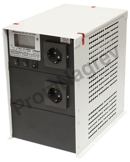 ИС1-24-6000У инвертор, преобразователь напряжения DC/AC, 24В/220В, 6000Вт