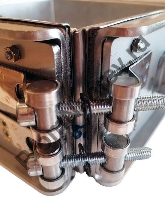 Миканитовый рамочный нагреватель из 4-х нагревательных элементов для фильеры экструдера, 1420 Вт, 230 В