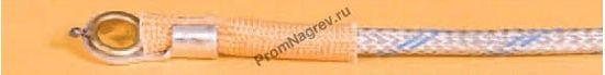Корпусная поверхностная кольцевая термопара диаметр 5 мм, термоэлемент тип J, провод 2000
