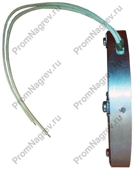 Круглый плоский керамический тэн в корпусе из нержавеющей стали, диаметр 120 мм 650 Вт 230 В с отверстием