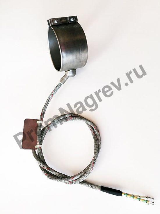 Сопловый нагреватель с корпусом из нержавеющей стали 70 x 48 мм, 400 Вт/ 230 В, и проводом под углом 45 градусов