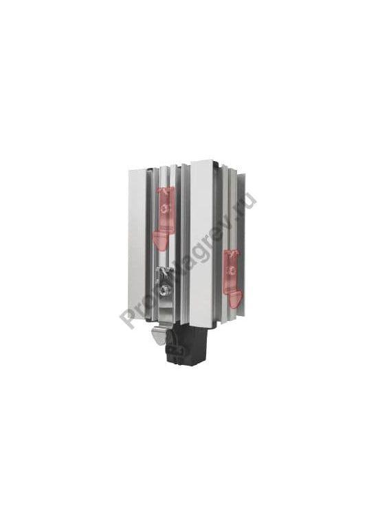 Произвольное монтажное положение din клипа в нагревателях для шкафов автоматики SL-SNB 030-000, SL-SNB 050-000 и SL-SNB 060-000