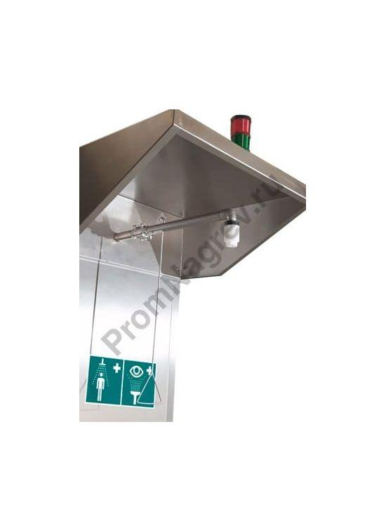 Аварийный душ с ёмкостью, модель ETS 1.3, комбинированный