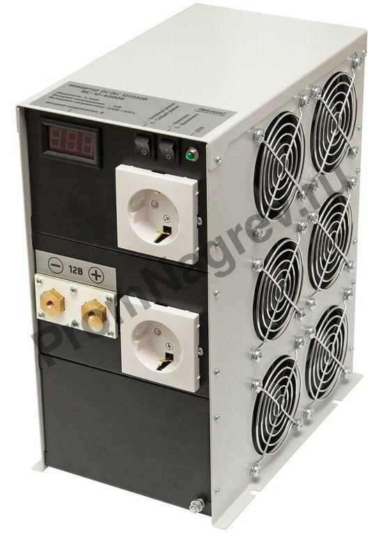 ИС-12-4500У инвертор, преобразователь напряжения DC/AC, 12В/220В, 4500Вт