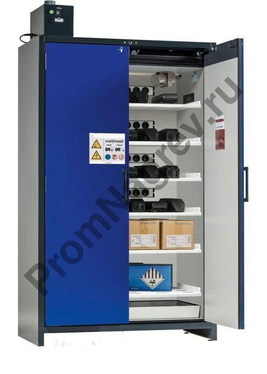 Шкаф на шесть полок для хранения и подзарядки аккумуляторов и батарей, Smart Store.