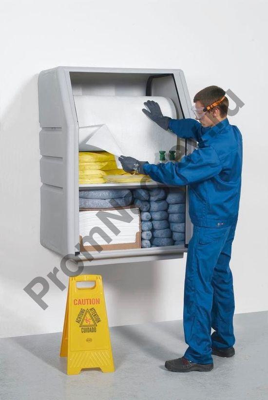 Удобный стационарный шкаф для хранения сорбентов.