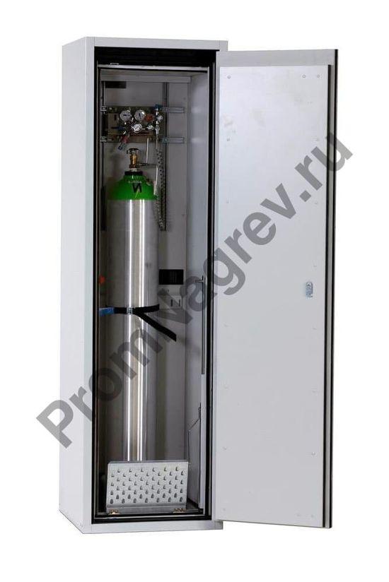 Металлический шкаф под один газовый баллон G90.6, дверка справа, 600 мм, тип огнестойкости 90