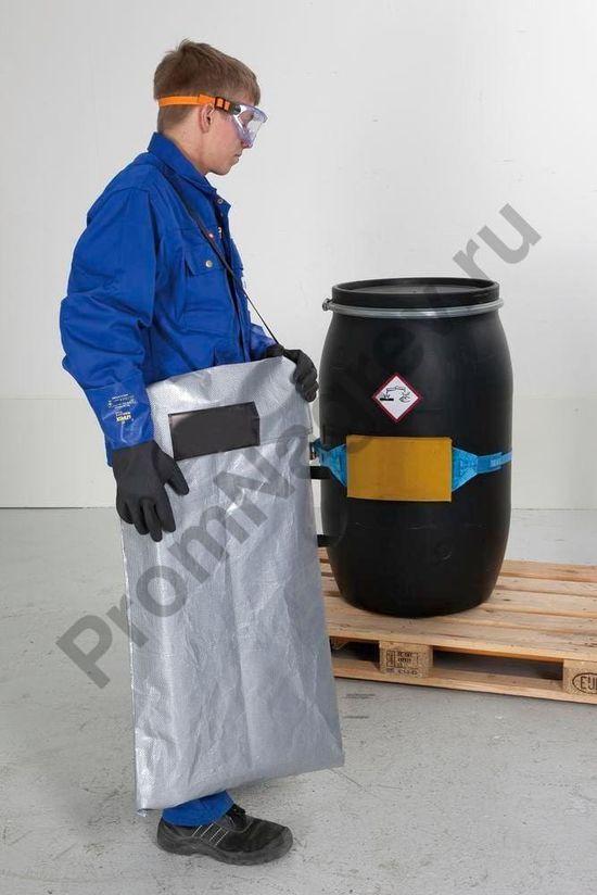 Лёгкая и надёжная сумка для складных мобильных сточных поддонов размером до 1500 х 1500 мм