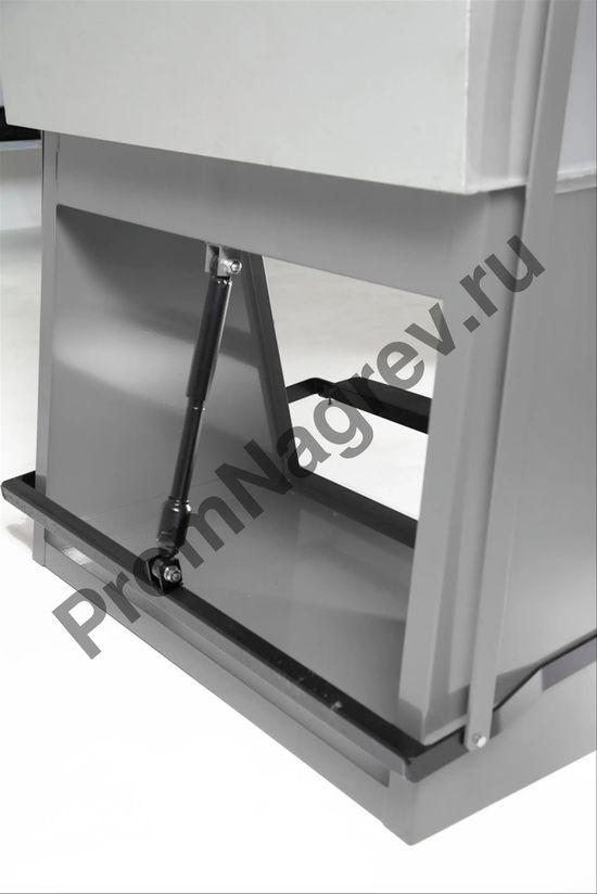 Ёмкость стальная для промывки крупных деталей с резервуаром для погружения, 60 литров, сточный поддон из стали
