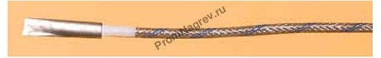 Плоская поверхностная корпусная термопара диаметр 5 мм, термоэлемент тип J, провод 2000