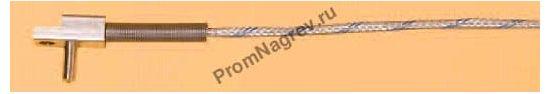 Втычная поверхностно-пружинная термопара  диаметр 4 мм, термоэлемент тип J
